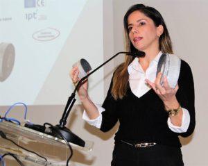 Camila Guello, especialista em Sistemas de Firestop da Hilti do Brasil