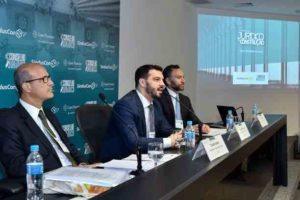 Desembargador do Tribunal de Justiça de São Paulo, Claudio Godoy, membro do Conselho Jurídico, Ricardo Campelo e o advogado Olivar Vitale