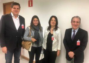 Fabio Villas Bôas, Vanessa Dias, Lilian Sarrouf e Odair Senra