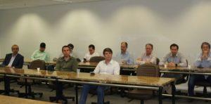Membros do CHP participam de reunião no SindusCon-SP